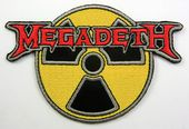 Megadeth - 'Nuclear' Embroidered Patch